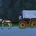 ミューズ海岸の馬車からラーディス王島へショートカットできるようになります