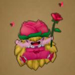ローズプリンセスからバラのスティックをゲット!