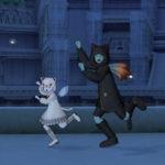 黒猫・白猫セットを着てリベリオダンスを踊ってみました